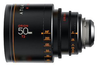 Atlas Orion 50mm T2 2X Anamorphic Prime Silver Edition (EF)
