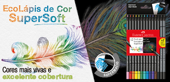 Lápis de cor Super Soft Faber-Castell