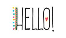 caderno hello
