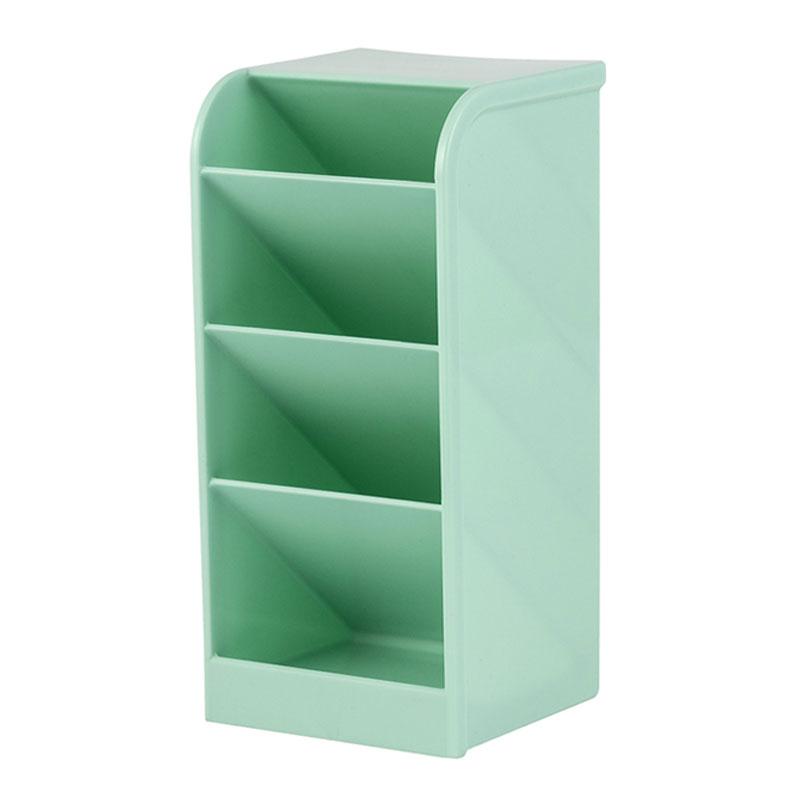 Organizador diagonal multiuso 4 divisões - verde pastel - 10330021 - Waleu