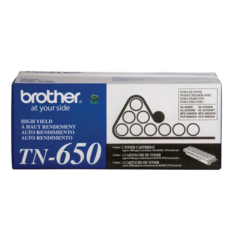 Toner Brother TN650BR- preto 8000 páginas