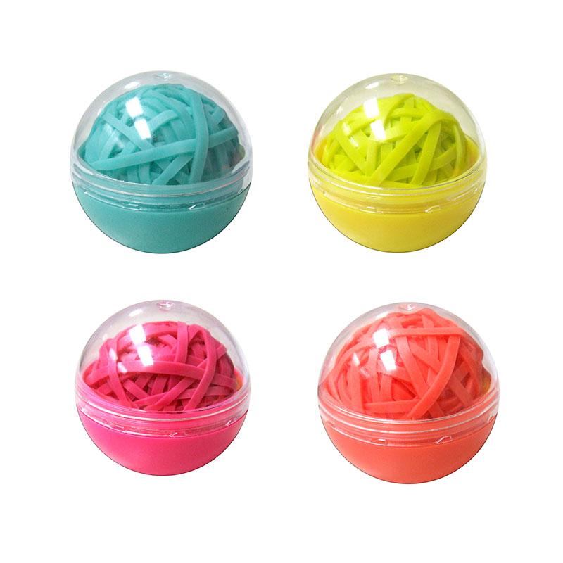 Elástico látex colorido bolinha - com 90 unidades - 281832 - Tilibra