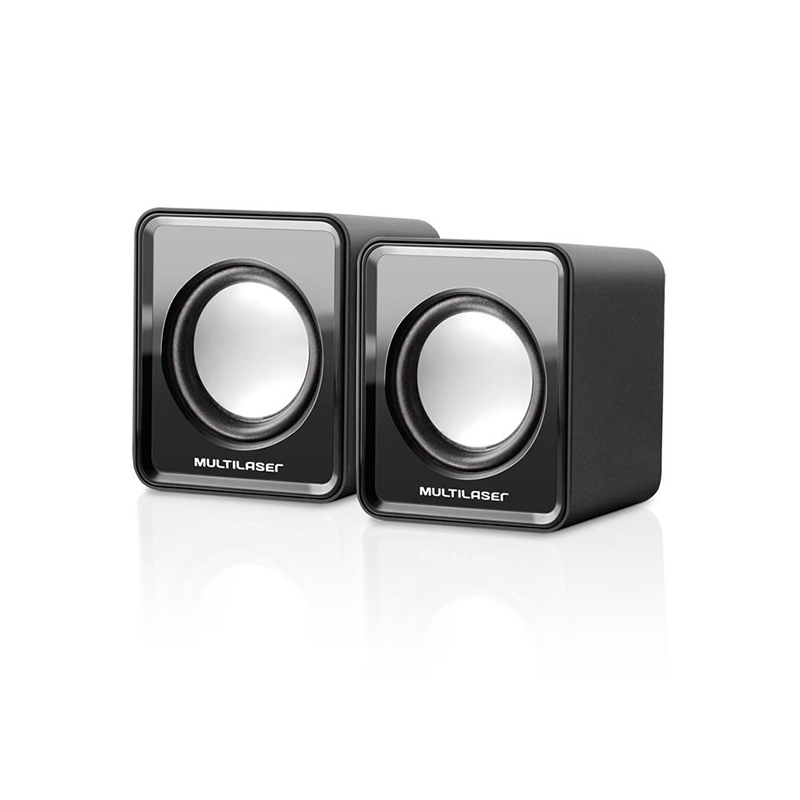 Caixa de som 2.0 mini 3W RMS - SP144 - Multilaser