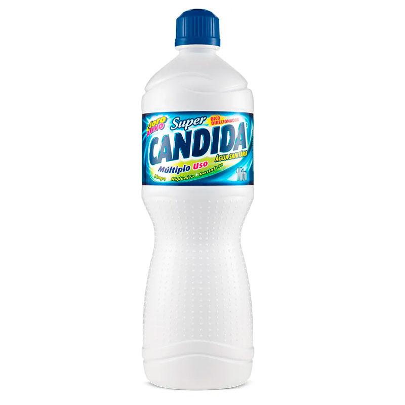 Água sanitária 1 litro - Candida