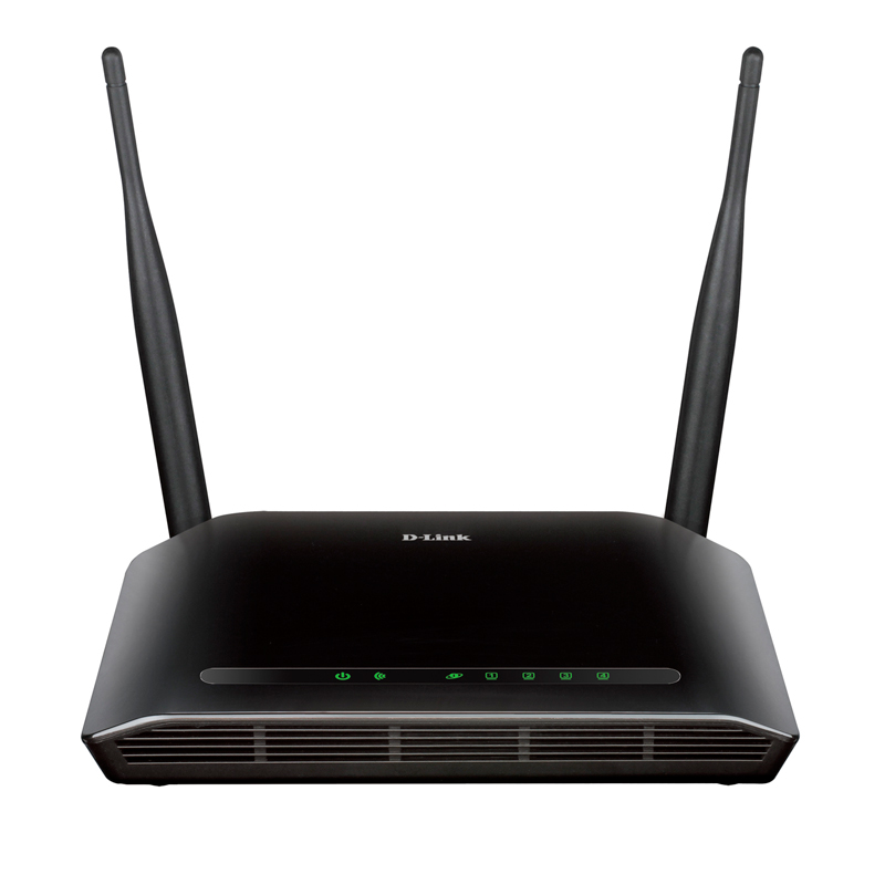 Roteador wireless+repetidor 5 portas 300Mbps DLink