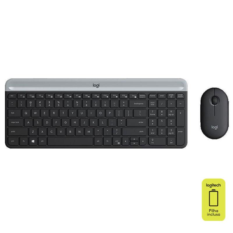 Teclado e mouse sem fio MK470 - Logitech