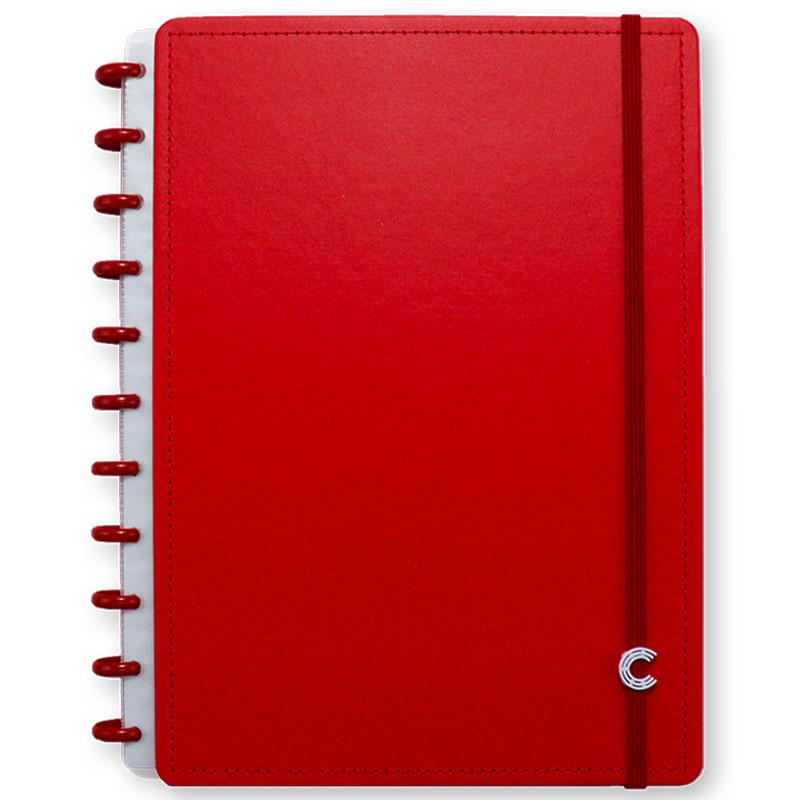 Caderno inteligente grande All Red - CIGD4094
