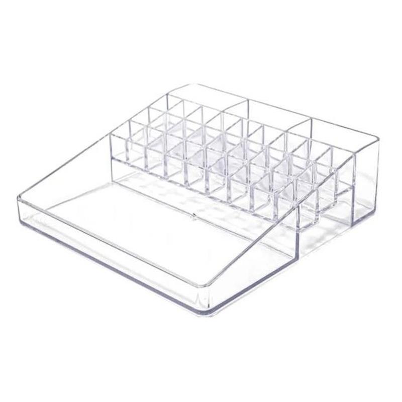 Organizador de cosméticos plus c/31 divisórias cristal 3073.H.0006CX  - Dello