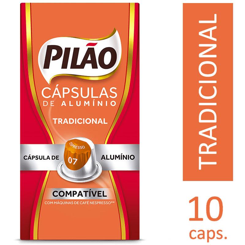 Cápsula de café Espresso 7 - 4028658 - com 10 unidades - Pilão