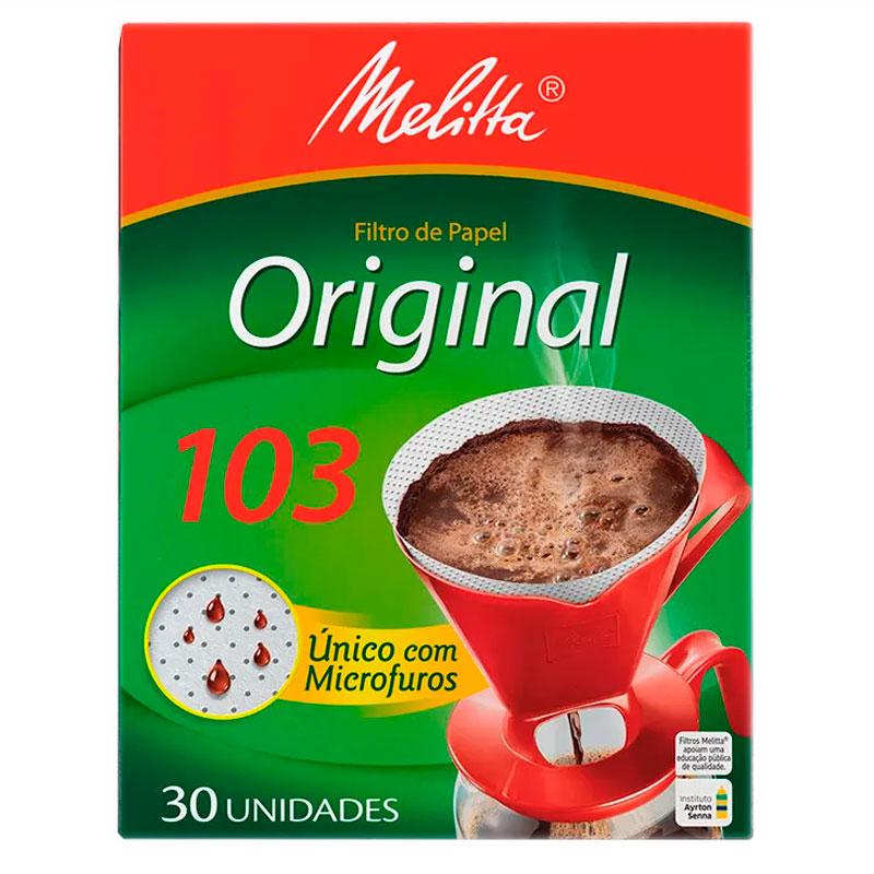 Filtro de papel 103 - caixa com 30 unidade - Melitta