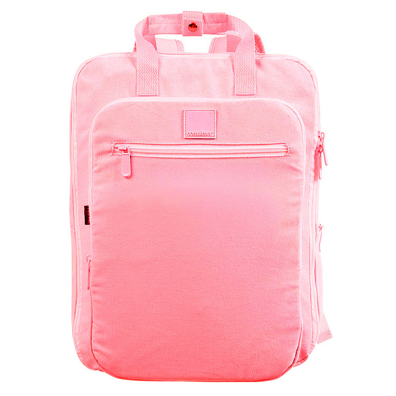 Mochila escolar grande sem roda - 37695/20 - Container Rosa pastel - Dermiwil