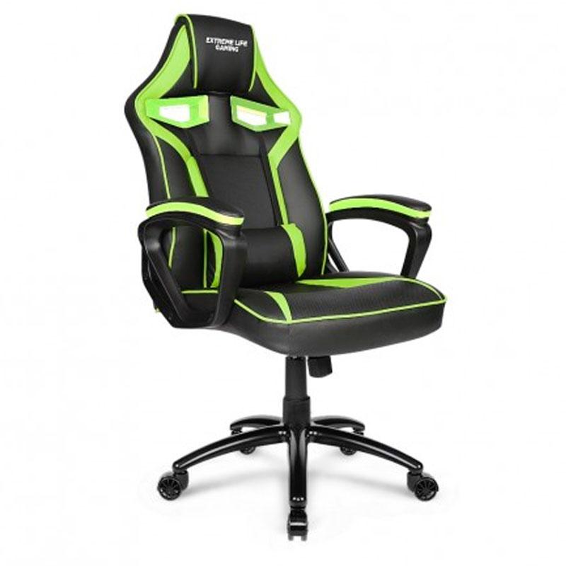 Cadeira Gamer Raptor verde/preto CH04GE Elg
