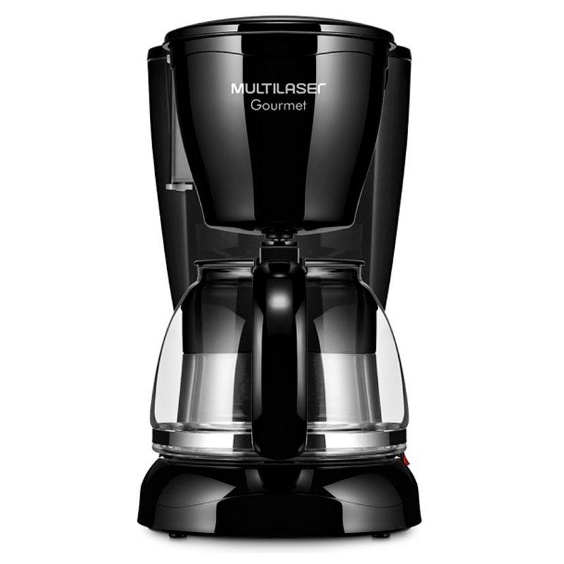 Cafeteira elétrica gourmet preta 127V - BE03 - Multilaser
