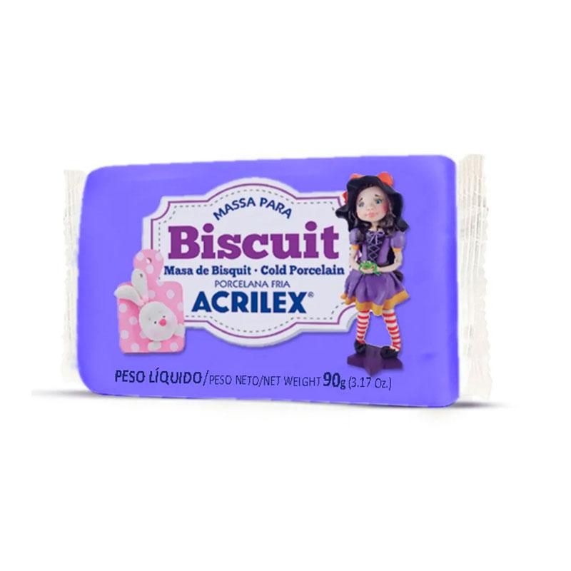 Massa de Biscuit 90g - Violeta - Acrilex