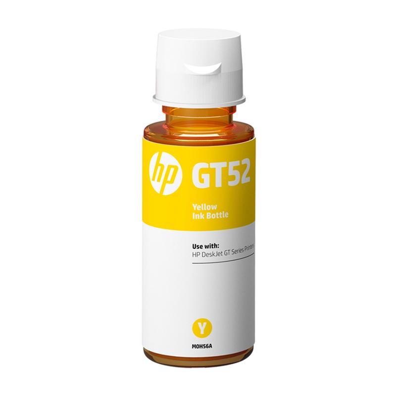 Garrafa de tinta HP (GT52) refil M0H56AL - Amarelo 70ML