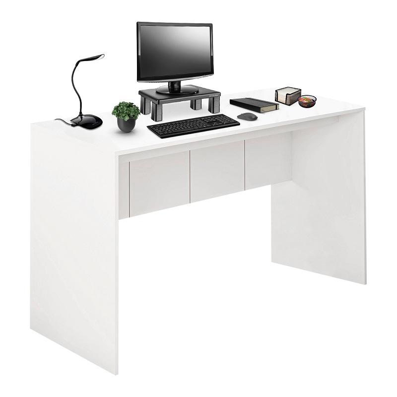 Mesa para Computador 136cm Branco Fosco - EI075