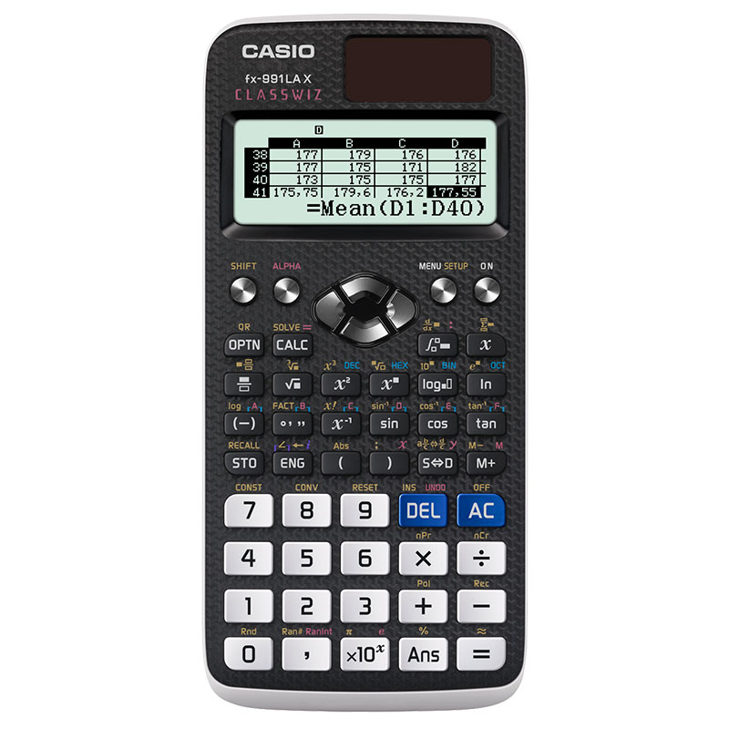 Calculadora científica FX-991LAX - Classwiz - Casio