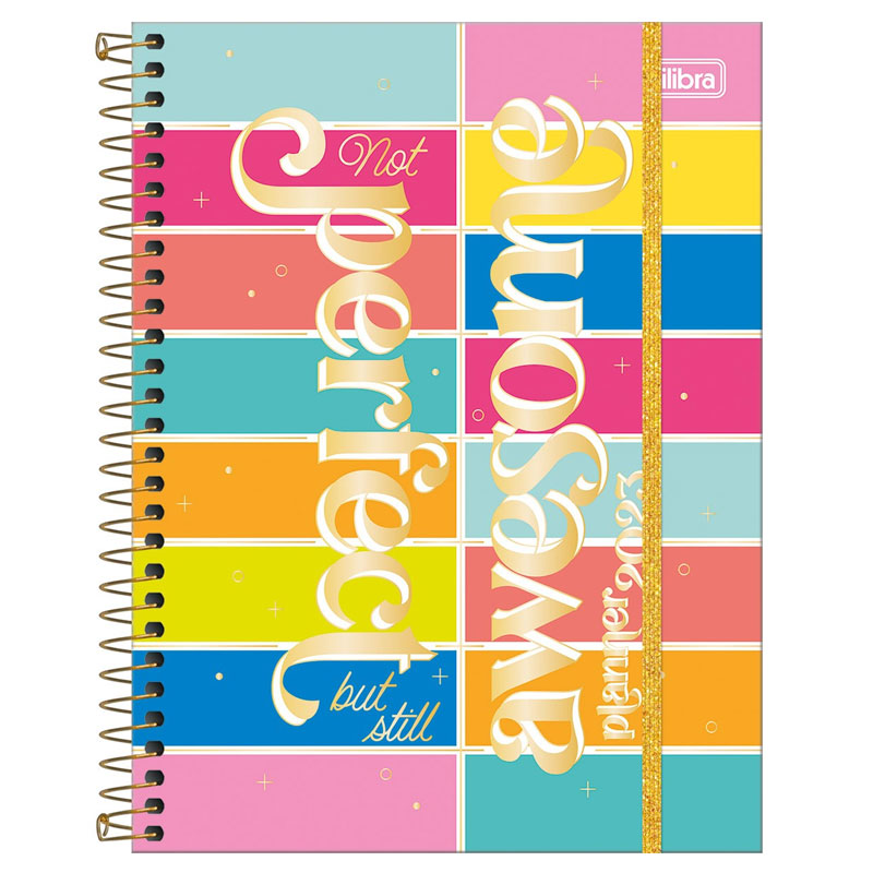 Agenda planner espiral semanal Be Nice 2021 - Capa 2 - Tilibra