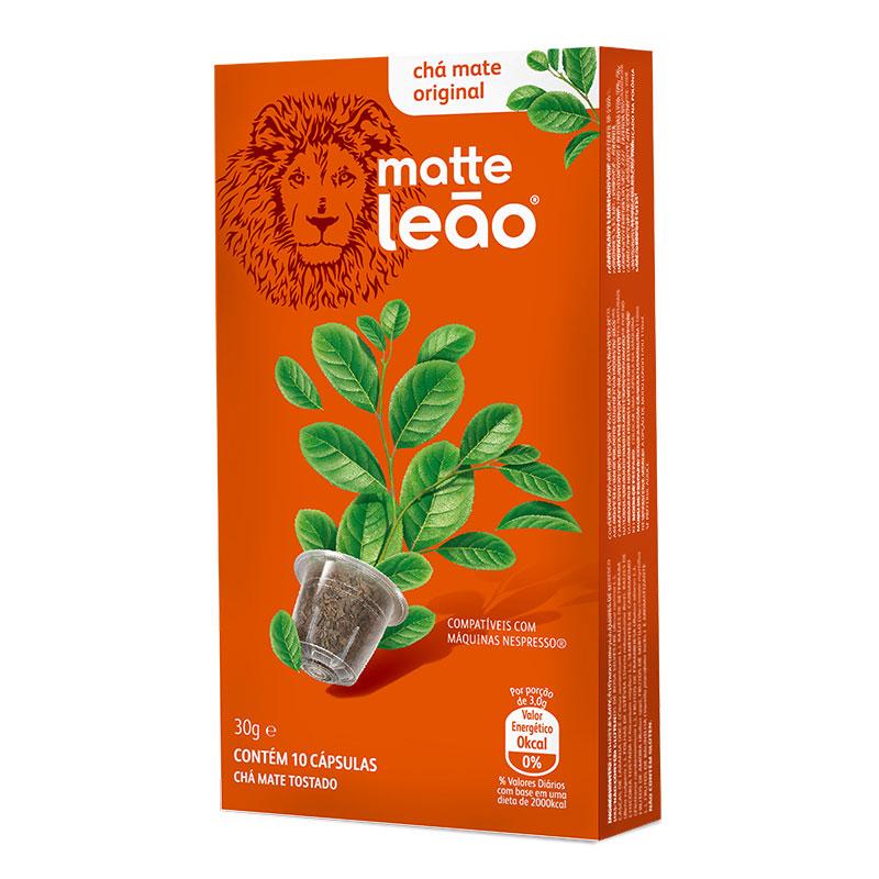 Cápsula de chá original - com 10 unidades - Matte Leão