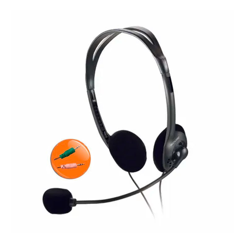 Headset stereo com fio P2 PH002 - Multilaser