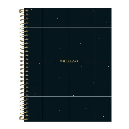 Caderno colegial capa dura 1x1 - 80 folhas - West Village - 4 - Tilibra