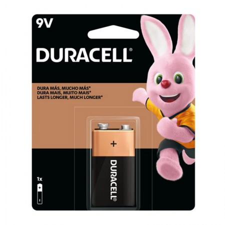 Bateria alcalina 9 volts - com 1 unidade - Duracell