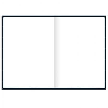 Caderno costurado sem pauta capa dura - 80 Folhas - Organizer - Tilibra