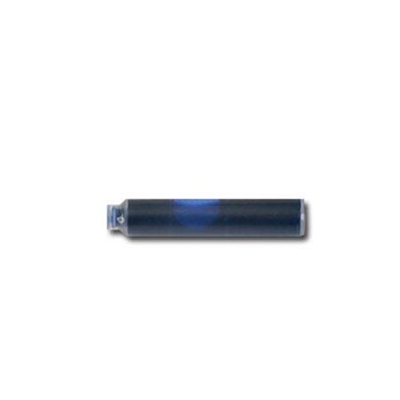 Carga para caneta tinteiro azul com 3 unidades - Crown