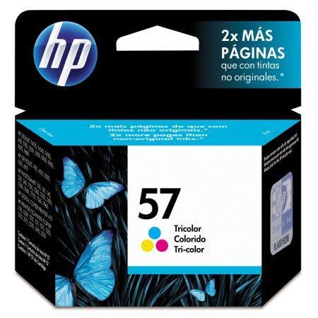 Cartucho HP Original (57) C6657AB - cores rendimento 391 páginas
