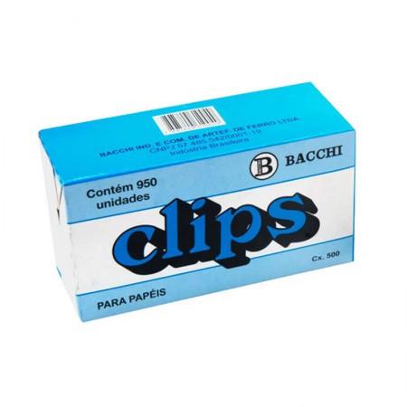 Clips galvanizado NR 1 - com 950 unidades - Bacchi