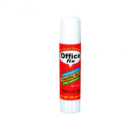 Cola bastão 9g - Office Fix - Radex