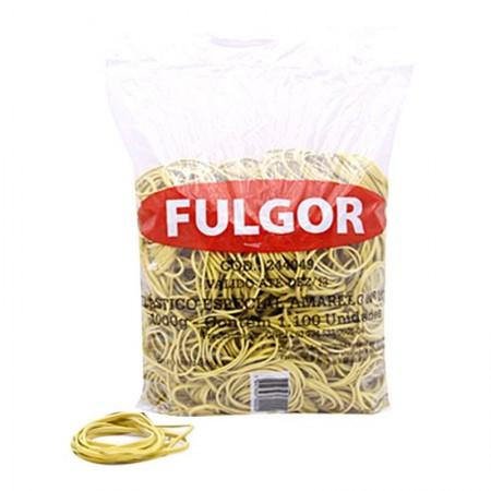 Elástico látex NR 18 Amarelo - pacote com 1 Kg - Fulgor