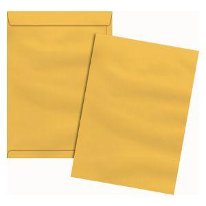 Envelope saco ouro SKO128 200x280mm - blister com 10 unidades - Scrity
