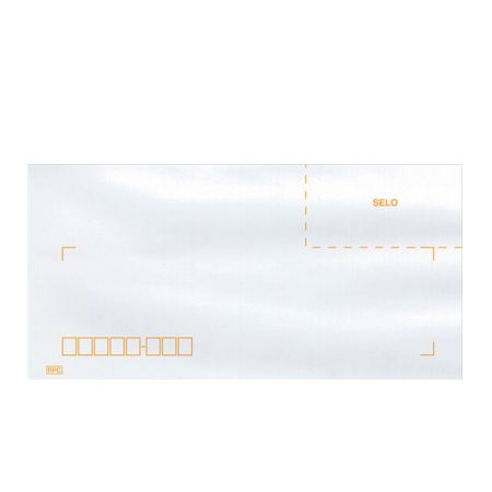 Envelope ofício com RPC COF142 114x229mm Blist 10 unid Scrity