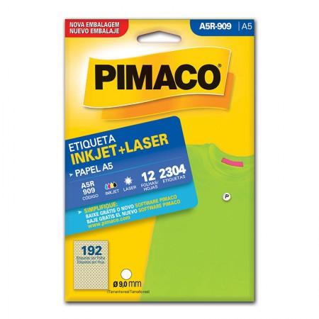 Etiqueta inkjet/laser A5R909 - Pimaco