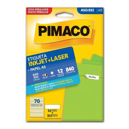 Etiqueta inkjet/laser A5Q932 - Pimaco