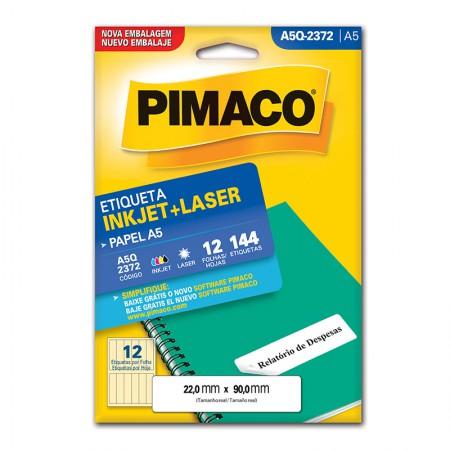 Etiqueta inkjet/laser A5Q2372 - Pimaco