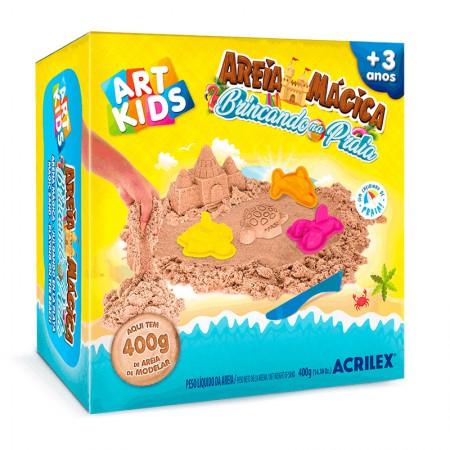Kit Brincando na Praia Areía Mágica - Art kids - 5926 - Acrilex