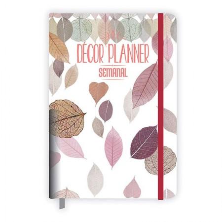 Planner grampeado semanal Décor - Redoma