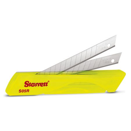 Lâmina para estilete estreito KS05R - com 10 unidades - Starrett