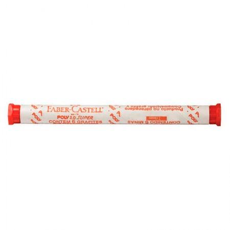 Grafite 2.0 mm - OF/9020HB - tubo com 6 unidades - Faber-Castell