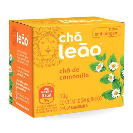 Chá de camomila - com 10 unidades - Leão Fuze