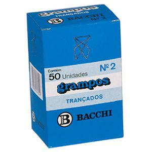 Grampo trançado galvanizado TR2 - com 50 unidades - Bacchi
