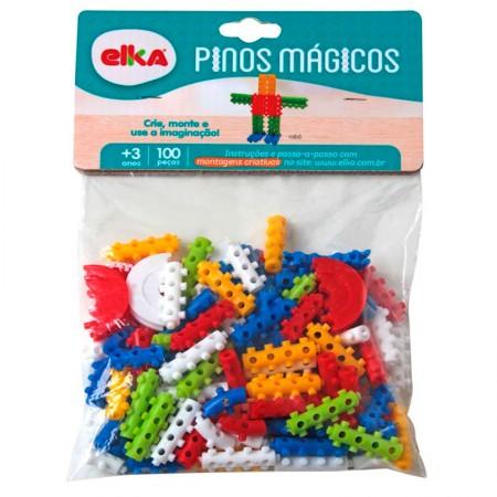 Pinos mágicos com 100 peças - 483 - Elka