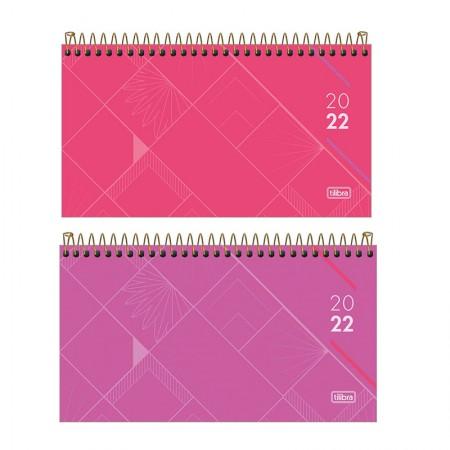 Agenda executiva espiral semanal bolso Spot Feminina 2021 - Tilibra