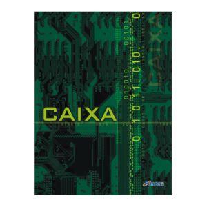 Livro caixa ofício - com 50 folhas - São Domingos