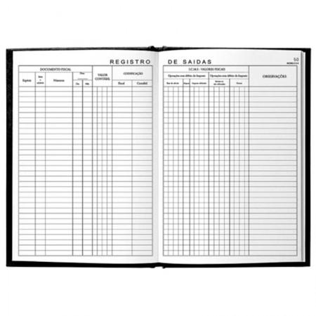 Registro de saidas modelo 2A - com 50 folhas - Foroni