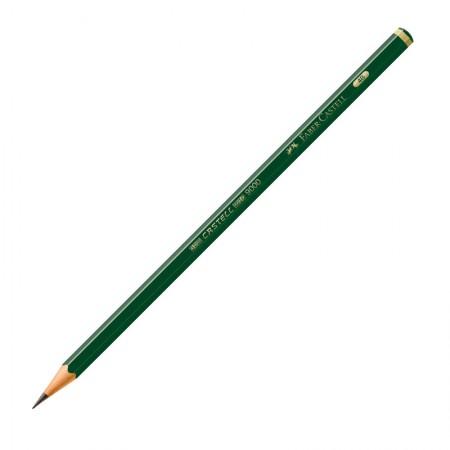 Lápis preto 4B - 9000 - unidade - Faber-Castell