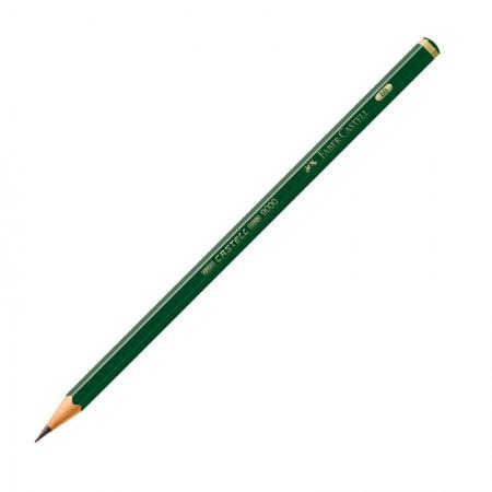 Lápis preto 6B - 9000 - unidade - Faber-Castell