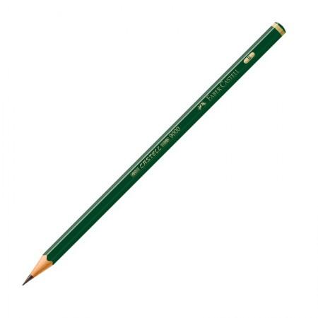 Lápis preto B - 9000 - unidade - Faber-Castell